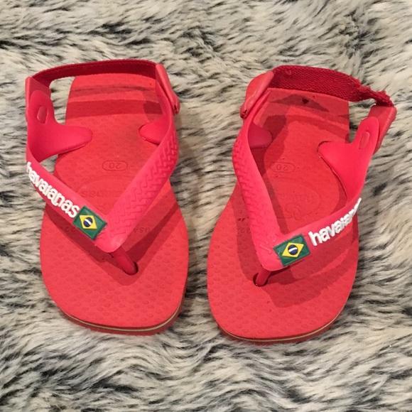 d6293d0b5665 Havaianas Other - Havaianas Red Flip Flops US Sz 6 Euro 20